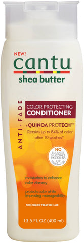 3 Pack - Cantu Shea Butter Anti Fade Color Protecting Conditioner with Quinoa Protein 13.5 oz