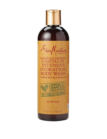 Shea Moisture Body Wash, Manuka Honey, 13 Oz