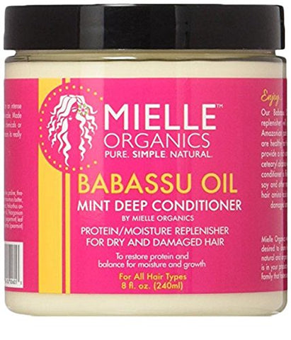 Mielle Organics Babassu Oil Mint Deep Conditioner - (2 Pack)