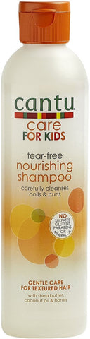 Cantu Care for Kids Gentle and Tear-Free Nourishing Shampoo, 8 oz