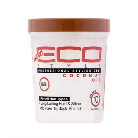 Eco Style Gel Coconut Oil, 32 Ounce