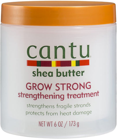2 Pack - Cantu Shea Butter Grow Strong Strengthening Treatment 6 oz