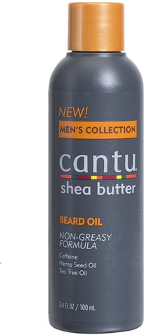 3 Pack - Cantu Men's Collection Shea Butter Beard Oil 3.40 oz