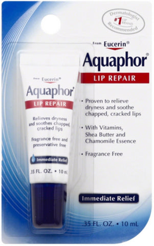 Aquaphor Lip Repair 0.35 oz (Pack of 3)
