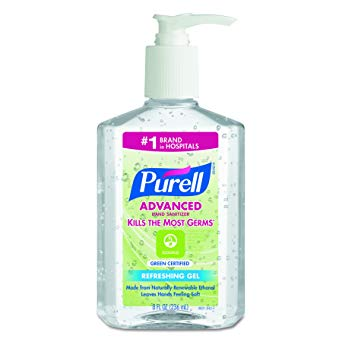 PURELL® Advanced 8oz Pump Instant Hand Sanitizer (12 per case)