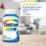 Centrum Men (250 Count) Multivitamin / Multimineral Supplement Tablet, Vitamin D3