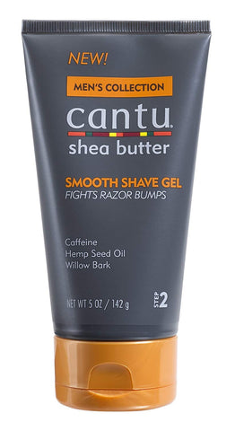 Cantu Shea Butter Men's Collection Smooth Shave Gel, 5 Ounce