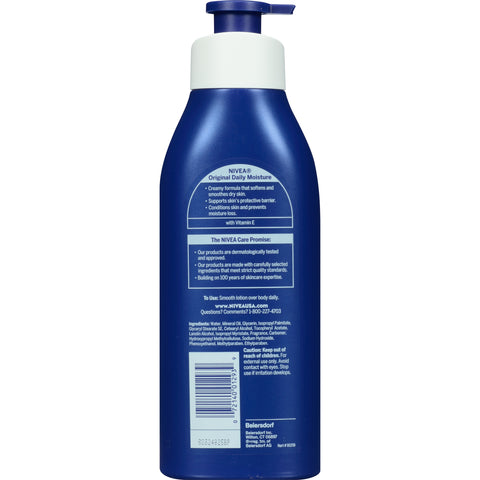 NIVEA Original Daily Moisture Body Lotion 16.9 fl. oz.