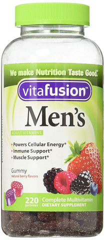 Vitafusion Men's Multivitamin Gummies, 1 Pack, 220 Count