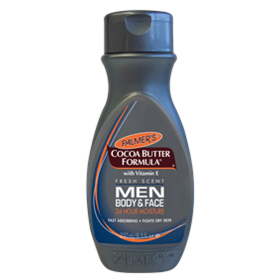 Palmer's Cocoa Butter Formula Men Body & Face Lotion, 8.5 fl oz