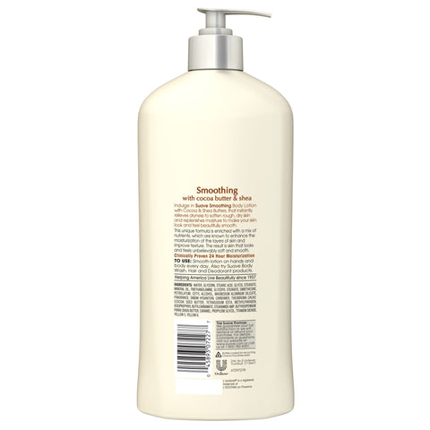 Suave Skin Solutions Body Lotion Cocoa Butter & Shea 18 oz
