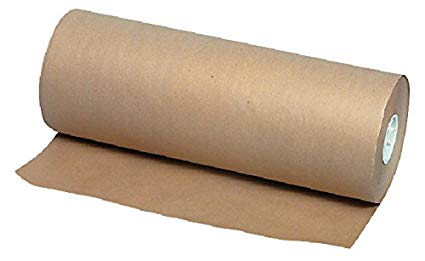 "Brown Kraft 18"" x 1,000' 40lb Butcher Paper Roll"