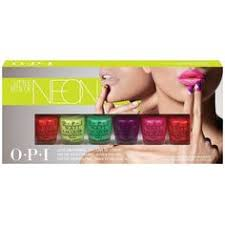 OPI Set NEONS 16/DP 16 PCS.  0.50z