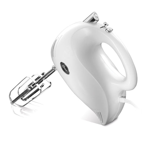 Oster 5-Speed Hand Mixer White, 1.0 CT