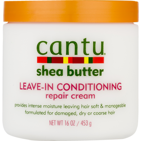 Cantu Shea Butter Leave-In Conditioning Repair Cream, 16 oz