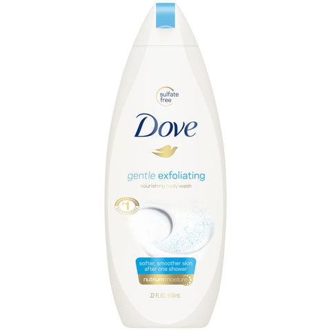 Dove Gentle Exfoliating Body Wash, 22 oz