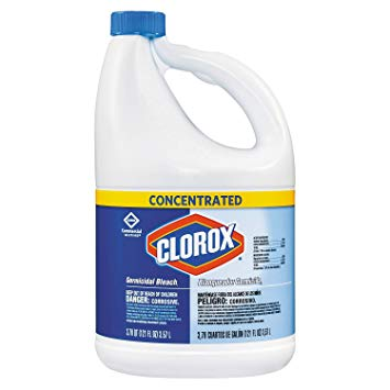 Clorox® Concentrated Germicidal Bleach - 121oz Bottle (3 per case)