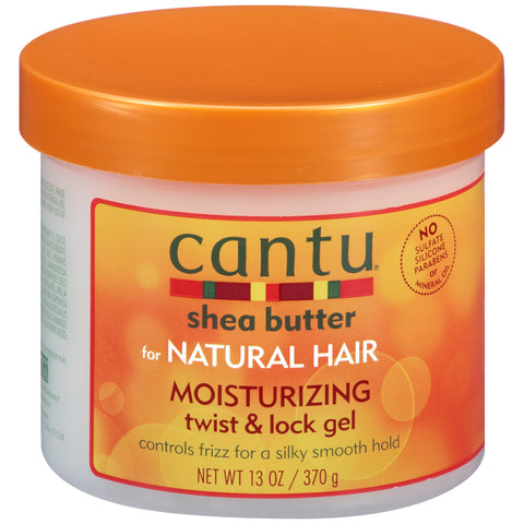 Cantu Shea Butter for Natural Hair Moisturizing Twist & Lock Gel, 13 oz