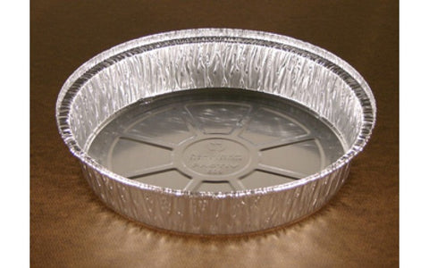 Round 3 lb Aluminum Foil Containers (packed 300 containers per case)