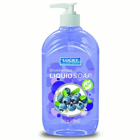 Liquid Soap Clear Blueberry 14oz.