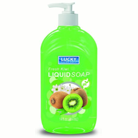 Liquid Soap Clear Kiwi 14oz.