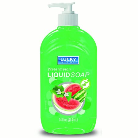 Liquid Soap Clear Watermelon 14oz.