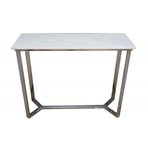 Marble and Brass Console Table