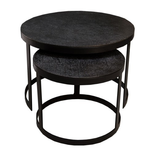 End Table Jute (set of two tables)