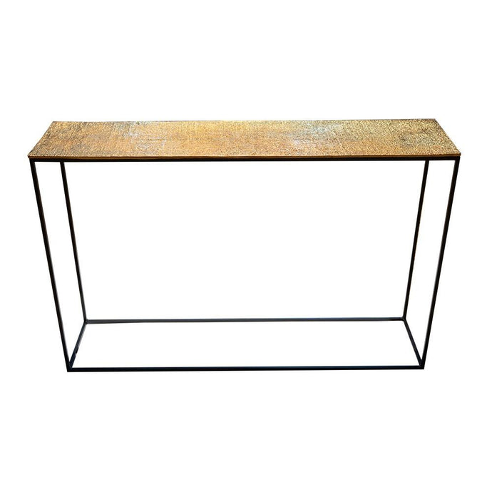 Jute Console Table