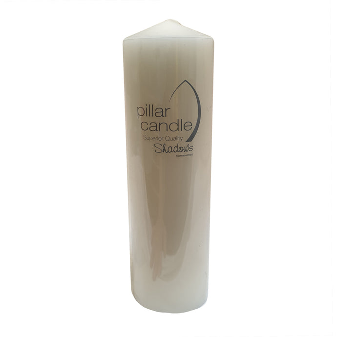 Pillar White Candles