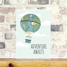 Load image into Gallery viewer, Adventure awaits wall art