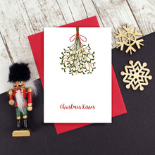 Load image into Gallery viewer, Christmas Kisses Card