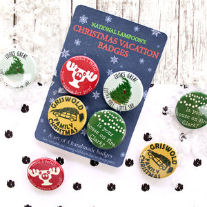National Lampoon's Christmas Vacation Badges