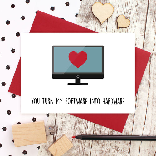 You turn my software into hardware card