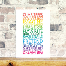 Load image into Gallery viewer, Inspirational nursery print