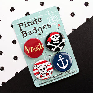 Pirate badges