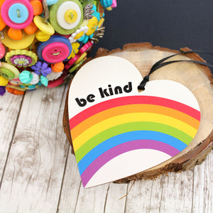 BE kind heart keepsake