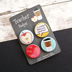 Teacher Pins