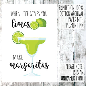 When life gives you limes wall out