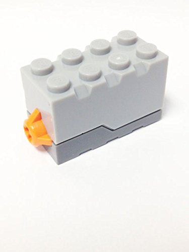 Lego Parts: Electric, Sound Brick 2 X 4 X 2 With Light Bluish Gray Top And Space Sound (Set 7065)