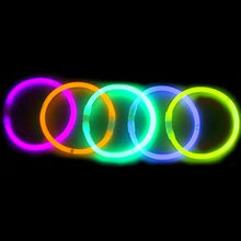 Load image into Gallery viewer, 8  Lumistick Glowstick Glow Stick Bracelets Mixed Colors (500 Bracelets)