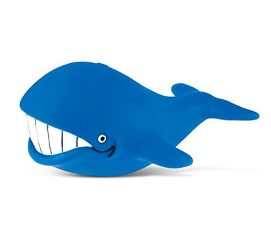 Puzzled Big Whale Rubber Squirter Bath Buddy Bath Toy - Ocean \ Sea Life Collection - 3 Inch - Affordable Gift For Your Little One - Item #2776