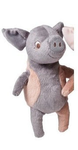 Ikea Kelgris Soft Toy Small Pig,Grey & Pink