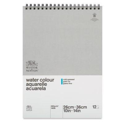 Winsor & Newton Classic Water Colour Side Glued Paper Pad-10 X14