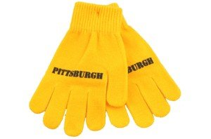 Pittsburgh Gloves - Stretchy Gold