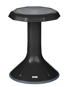 Ecr4Kids Ace Active Core Engagement Learning Stool, 18 Black