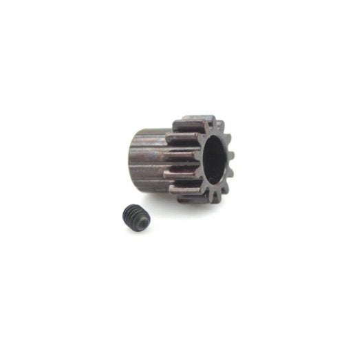 Hardcoated Spring Steel 13T Mod1 Pinion Gear  5Mm Bore Mod 1.0 - Tekno Associated Losi Tlr