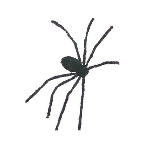 50 Inch Posable Furry Spider (Assorted Colors)