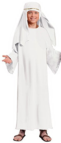 Forum Child'S Value Wise Man Costume, White, Small
