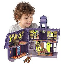 Scoobydoo Mystery Mates Deluxe Playset Mystery Mansion By Character